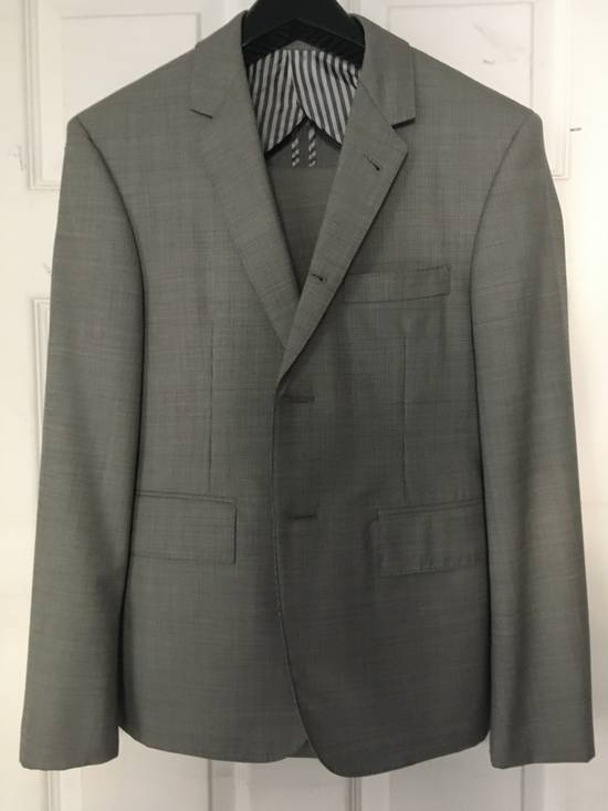 Thom Browne Classic Gray Houndstooth Suit Size 36R