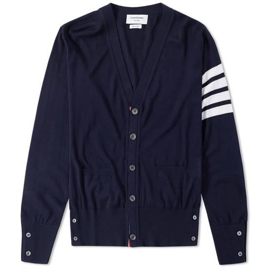 Thom Browne * FINAL DROP * Merino Wool 4 Bar Cardigan Size US XS / EU 42 / 0 - 11