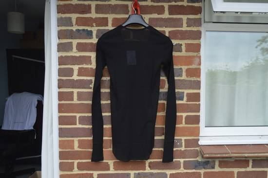 Balmain Black Ribbed Long Sleeve T-shirt Size US M / EU 48-50 / 2 - 10
