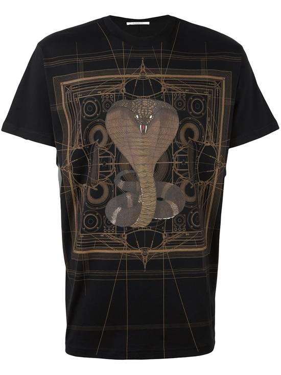 Givenchy Brown Cobra Print T-shirt Size US M / EU 48-50 / 2 - 1