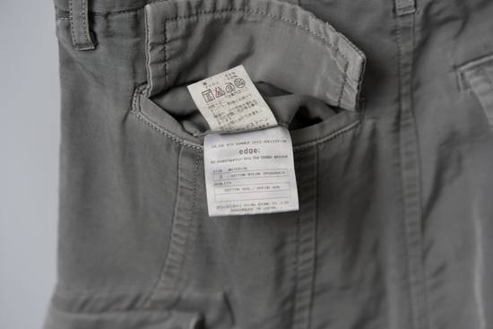 Julius SS12 'Edge' Grey Gasmask Cargo Cropped Pants Size US 31 - 5