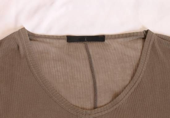 Julius SS09 Silk Blend Ribbed V-neck Sweater Size US S / EU 44-46 / 1 - 2