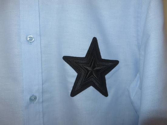 Givenchy Embroidered star applique shirt Size US L / EU 52-54 / 3 - 3