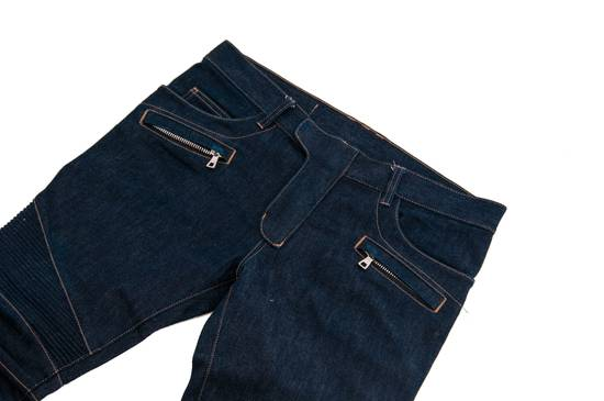 Balmain Denim Bikers Size US 33 - 2