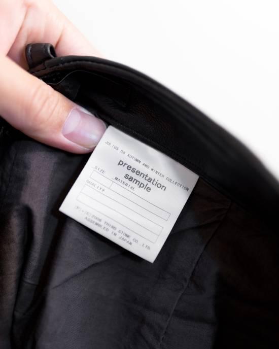 Julius FW08 Presentation Sample Leather Twist Seam Pants Size US 32 / EU 48 - 2