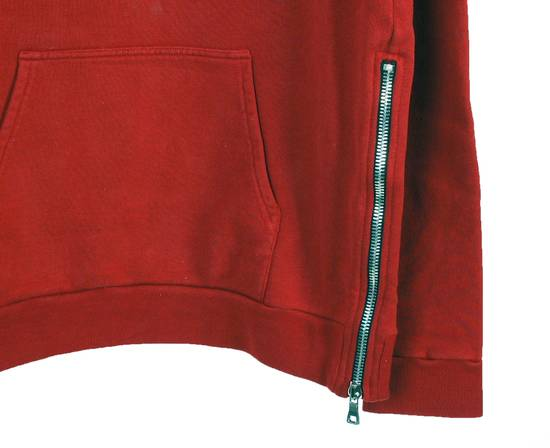 Balmain Original Balmain Red Men Hooded Top Sweatshirt Jumper in size L Size US L / EU 52-54 / 3 - 4
