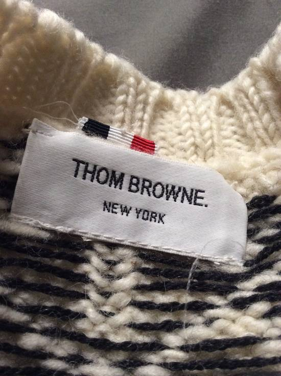 Thom Browne Ireland - 4 bar Fair Isle - Size US S / EU 44-46 / 1 - 3