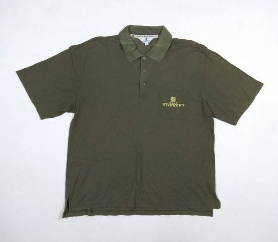 Givenchy Vintage Givenchy Golf Embroidered Logo Olive Colour Size US L / EU 52-54 / 3