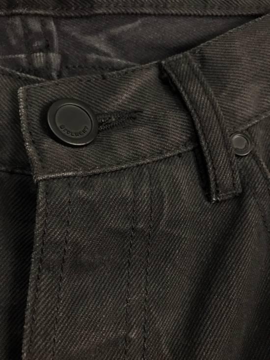 Givenchy BLACK INDIGO DYED GIVENCHY WRINKLED EFFECT DENIM Size US 28 / EU 44 - 7
