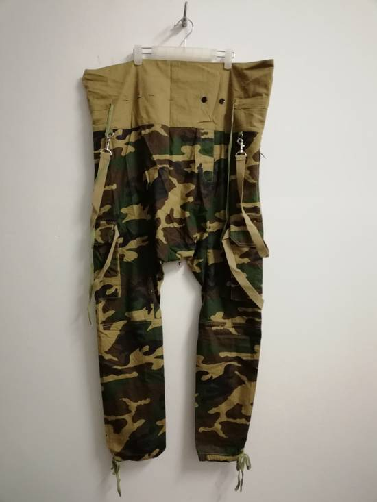 Balmain Balmain Paris Camouflage Resort Collection Low Crotchstyle Buttonfly size L (30-34 waist) with Adjustable Drawstring Size US 34 / EU 50