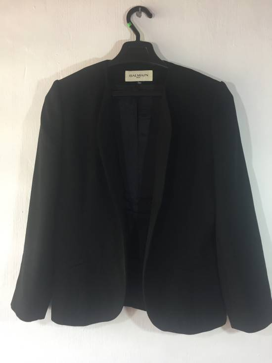 Balmain BALMAIN PARIS NICE DESIGN BLAZER FOR WOMENS MADE IN JAPAN Size 38S