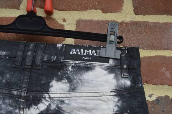 Balmain Black Tie Dye Shorts Size US 30 / EU 46 - 6