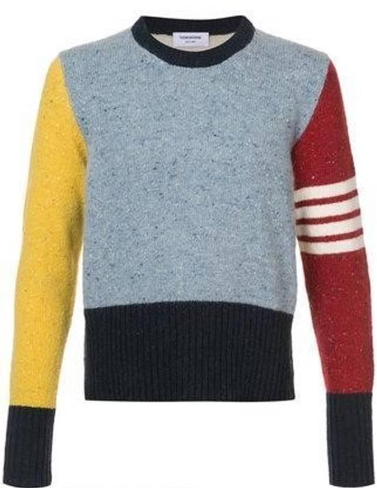 Thom Browne Thom Browne Paneled Sweater Size US L / EU 52-54 / 3