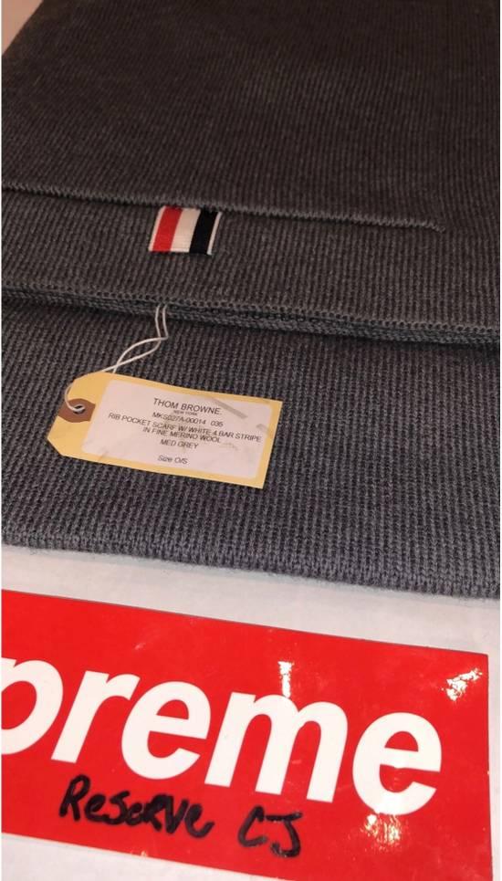 Thom Browne Grey Pocket Scarf Size ONE SIZE - 1
