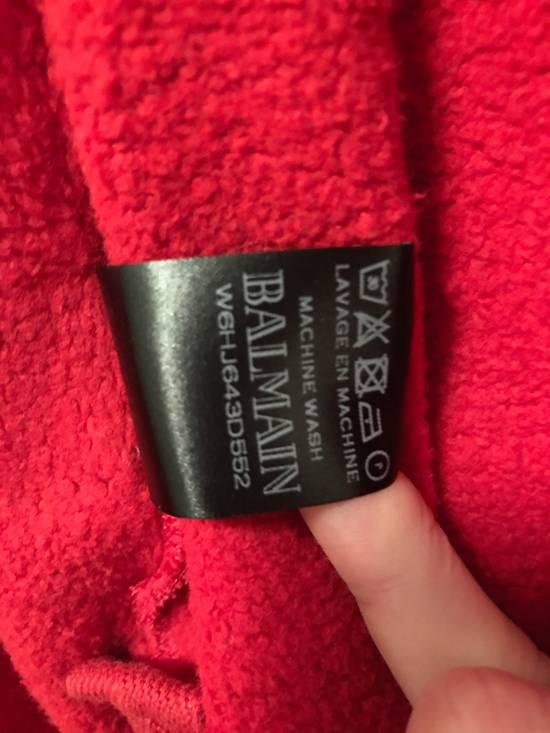 Balmain red hoodie Size US XL / EU 56 / 4 - 4