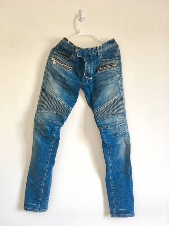 Balmain Rare SS 15 Balmian Biker jeans Size US 32 / EU 48 - 2