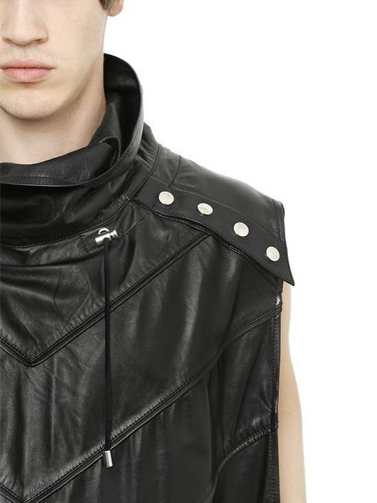 Balmain Balmain Sleeveless Leather Black Authentic $4890 Poncho Size M New Size US M / EU 48-50 / 2 - 1