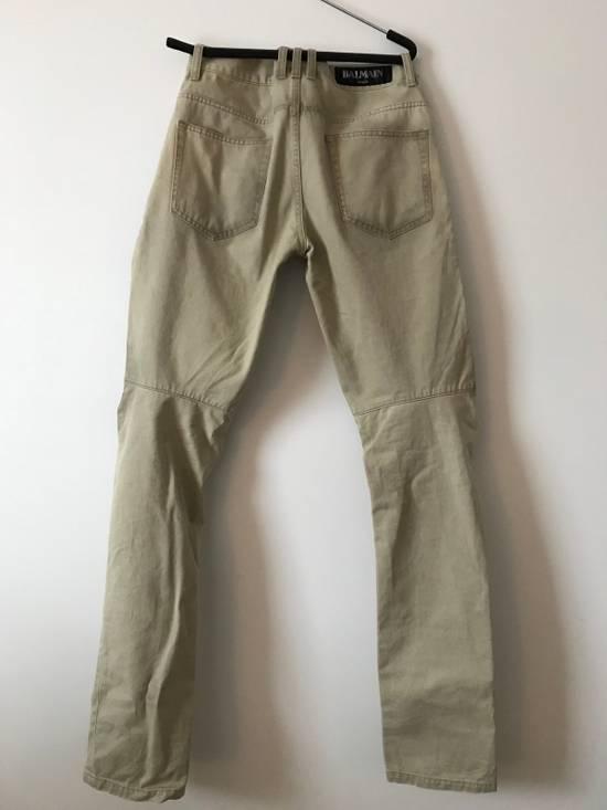 Balmain Balmain Dirt Processing Khaki Pants Size US 30 / EU 46 - 4