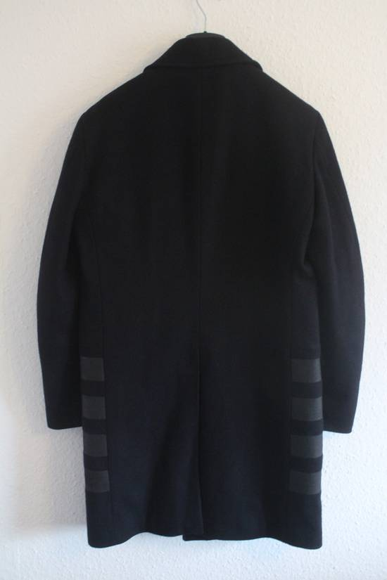 Helmut  Lang AW97 OG Archival Resin Stripe Military Coat Size US M / EU 48-50 / 2 - 6