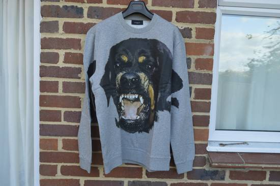 Givenchy Grey Rottweiler Print Sweater Size US XL / EU 56 / 4