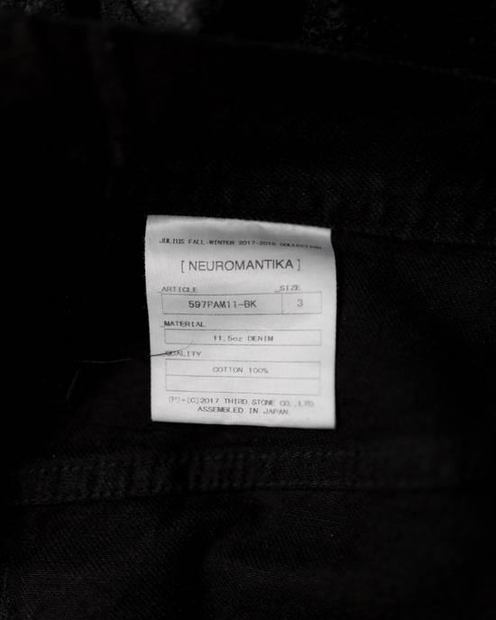 Julius FW17 Neuromantika Distressed Moto Zippe Denim Size US 31 - 8