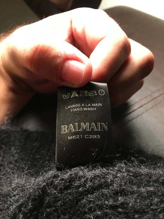 Balmain Balmain Mohair Wool Sweater Size US XL / EU 56 / 4 - 2