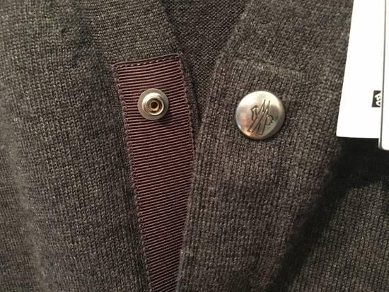 Thom Browne Gamme Bleu Wool Knitted Cardigan in Grey Size US M / EU 48-50 / 2 - 3