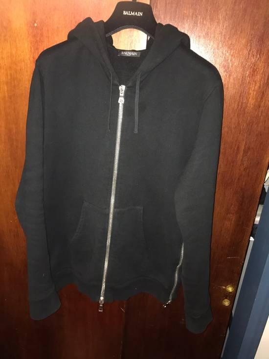 Balmain Black Hoodie Size US S / EU 44-46 / 1