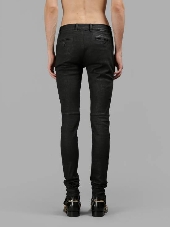Balmain Waxed Denim Chinos Size US 28 / EU 44 - 3