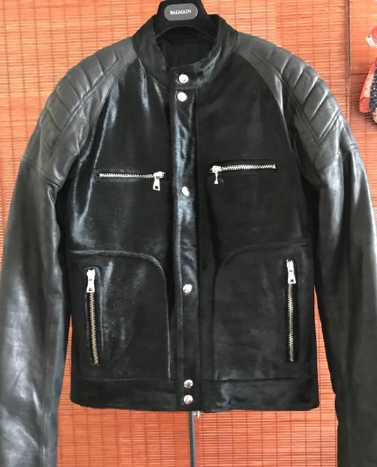 Balmain Balmain leather biker jacket Size US S / EU 44-46 / 1