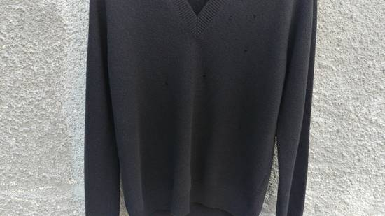 Givenchy Givenchy Destroyed Distressed Wool Slim Fit Rottweiler Knit Sweater Jumper size L (fitted M) Size US M / EU 48-50 / 2 - 8