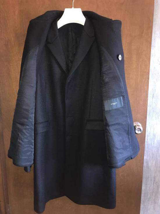 Givenchy FW12 Two Piece Black Wool Peacoat sz 48 double layer coat Riccardo Tisci Size US M / EU 48-50 / 2 - 7