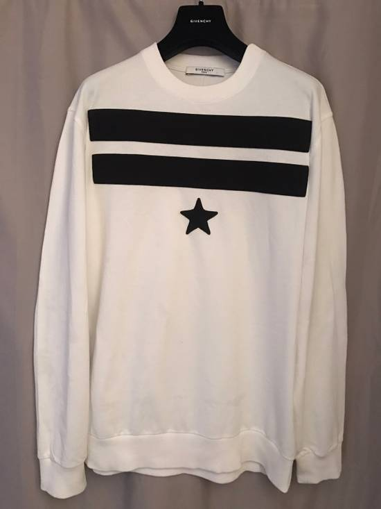 Givenchy Givenchy white and Black Sweater Size US M / EU 48-50 / 2 - 1