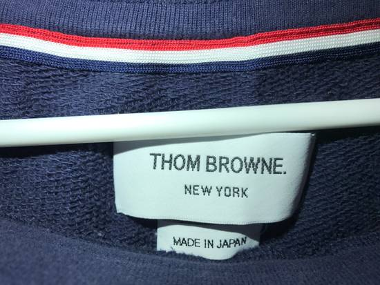 Thom Browne CLASSIC SWEATPANTS Navy WITH 4-BAR UNIVERSITY STRIPES Size US 30 / EU 46 - 5