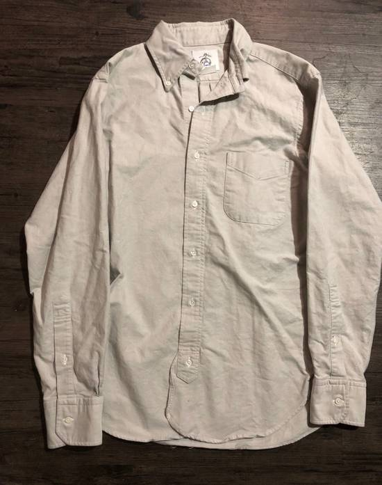 Thom Browne GREY OXFORD BUTTON UP SHIRT Size US M / EU 48-50 / 2