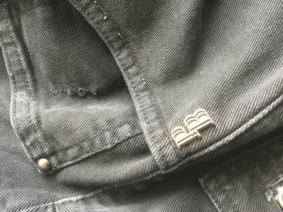Balmain ARCHIVE Pierre Balmain biker destroyed slim jeans Size US 32 / EU 48 - 3