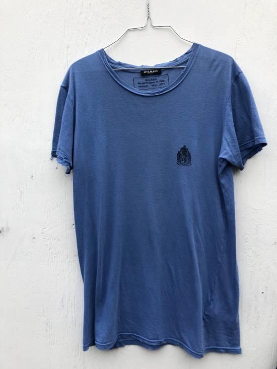 Balmain Decarnin Era Balmain Crest T-shirt Size US S / EU 44-46 / 1
