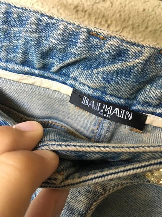 Balmain Womens Biker Jeans Size US 32 / EU 48 - 2