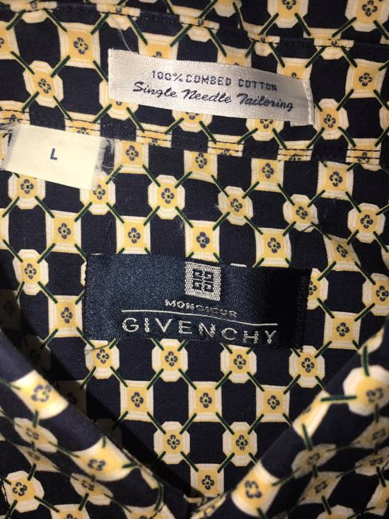 Givenchy Short Sleeve Button Down Shirt Size US L / EU 52-54 / 3 - 4