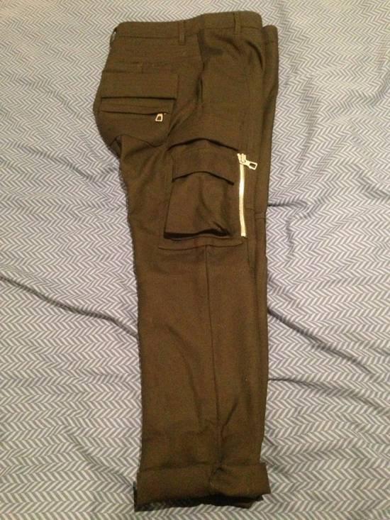 Balmain Wool Cargo Trousers Size US 29 - 3