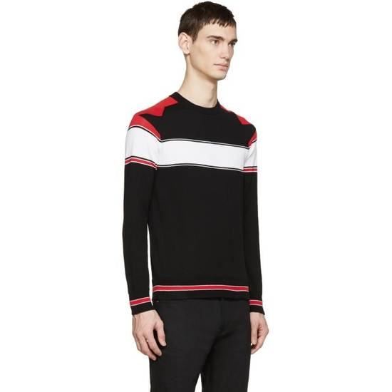 Givenchy Tricolor Knit Star Sweater Size US XS / EU 42 / 0 - 2