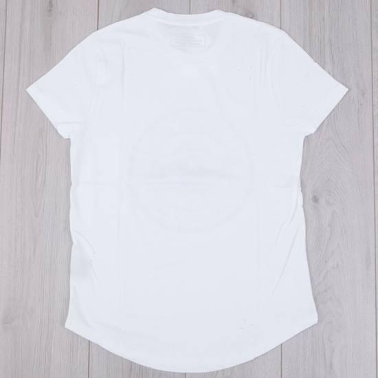 Balmain SS18 New White Cotton Balmain Velvet Logo Print Tshirt Size US M / EU 48-50 / 2 - 4