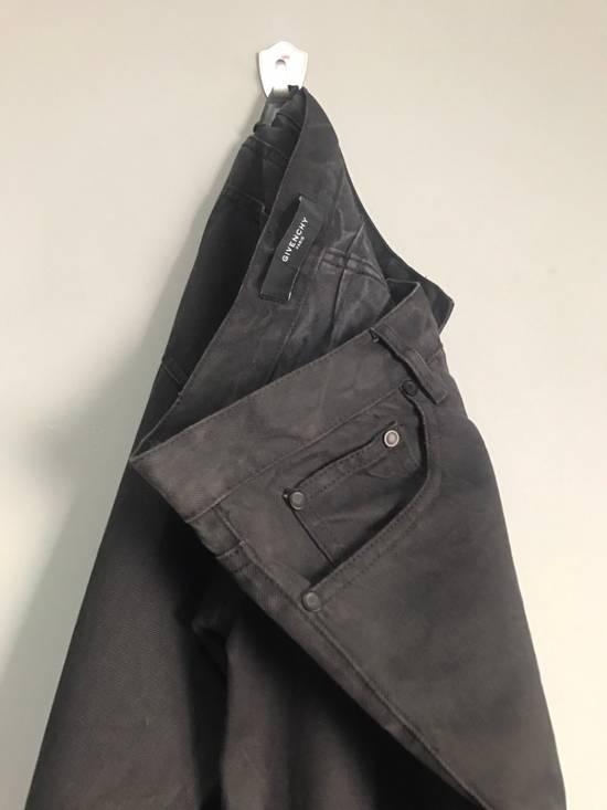 Givenchy BLACK INDIGO DYED GIVENCHY WRINKLED EFFECT DENIM Size US 28 / EU 44 - 5