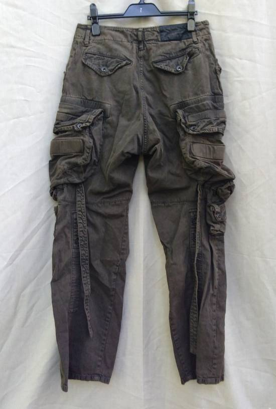 Julius Green Denim Gas Mask Cargo Pants s/s 13 Size US 29 - 5