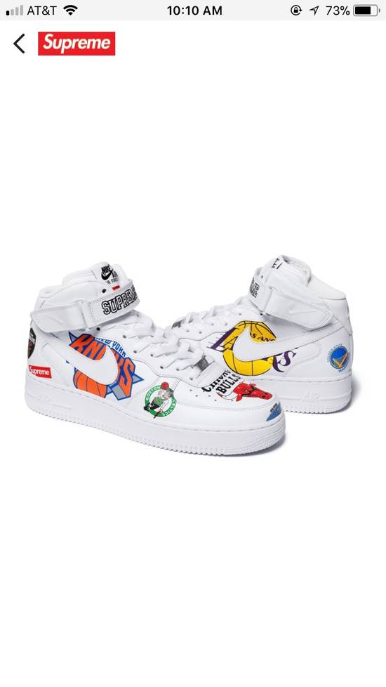 sneakers for cheap 5fb63 bbeef Supreme x NBA x Nike Air Force 1