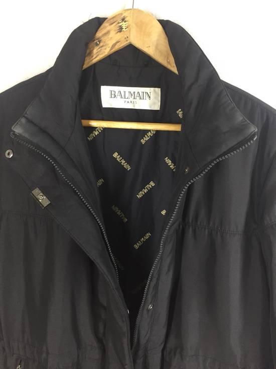 Balmain Final Drop! Balmain Paris Black Parka Jacket Size US L / EU 52-54 / 3 - 5