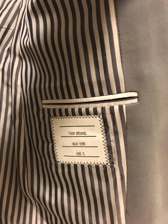 Thom Browne Thom Browne Bluish Grey Blazer (size 0) SS13 Size 34S - 1