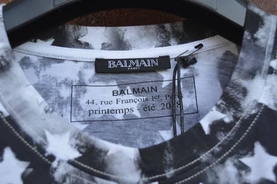 Balmain Flag Print T-shirt Size US L / EU 52-54 / 3 - 5