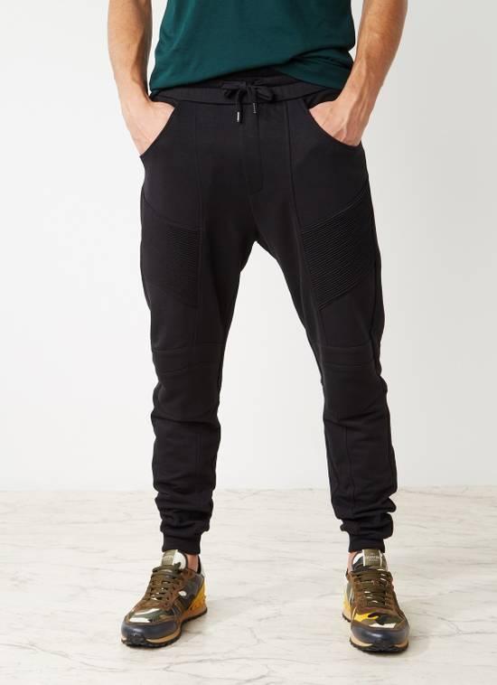 Balmain PIERRE BALMAIN Sweatpants biker black size 50 Size US 34 / EU 50 - 3