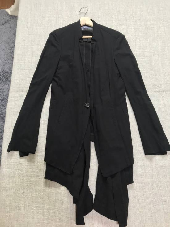 Julius SS12 layered front panel coat Size US M / EU 48-50 / 2